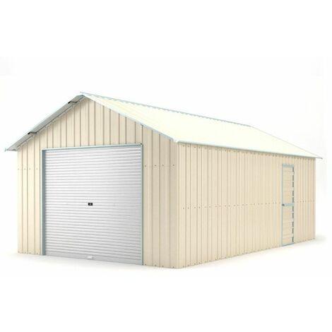 Box in acciaio container garage deposito con saracinesca 438x721cm x h327cm - 585KG - 30mq