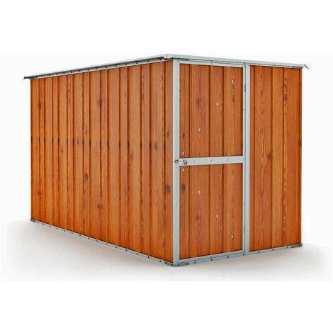 Box in Acciaio Zincato casetta lamiera attrezzi 175x307cm x h1.82m - 95KG - 5,4mq