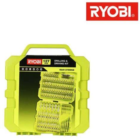 Box RYOBI 127 screwing accessories drilling RAK127DDSD