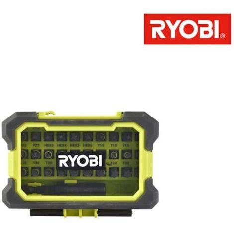 Box RYOBI 31 special impact screwing accessories RAK31MSDI