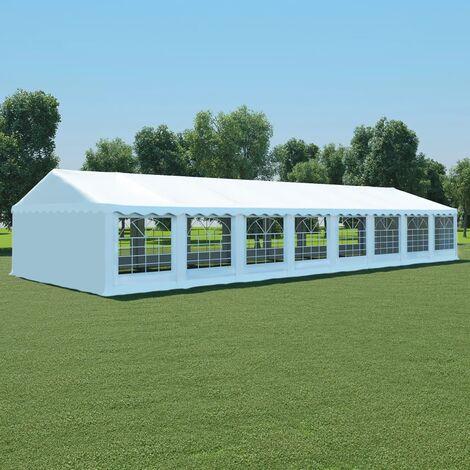 Boxborough 6m x 16m Steel Party Tent by Dakota Fields - White