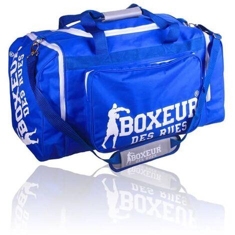 BOXEUR DES RUES Bolsa de deporte con correa ajustable azul
