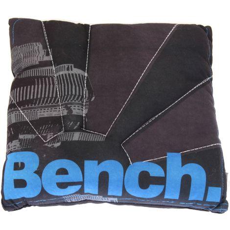 Boys Kids Bench Design Cushion (One Size) (Black)