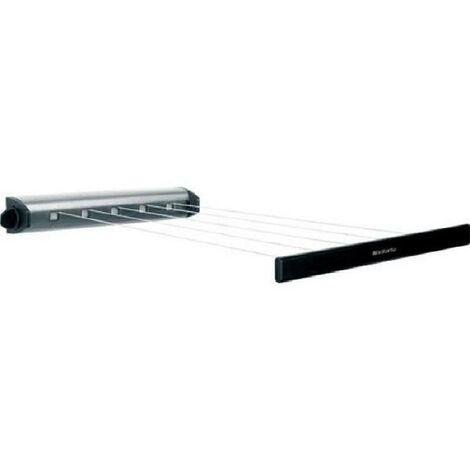 "main image of ""BRABANTIA Enrouleur de corde a linge Stainless steel - 22 m"""
