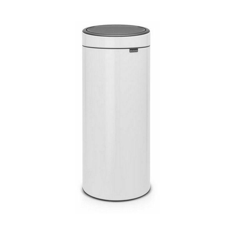 poubelle 30l blanc - 115141 - Brabantia