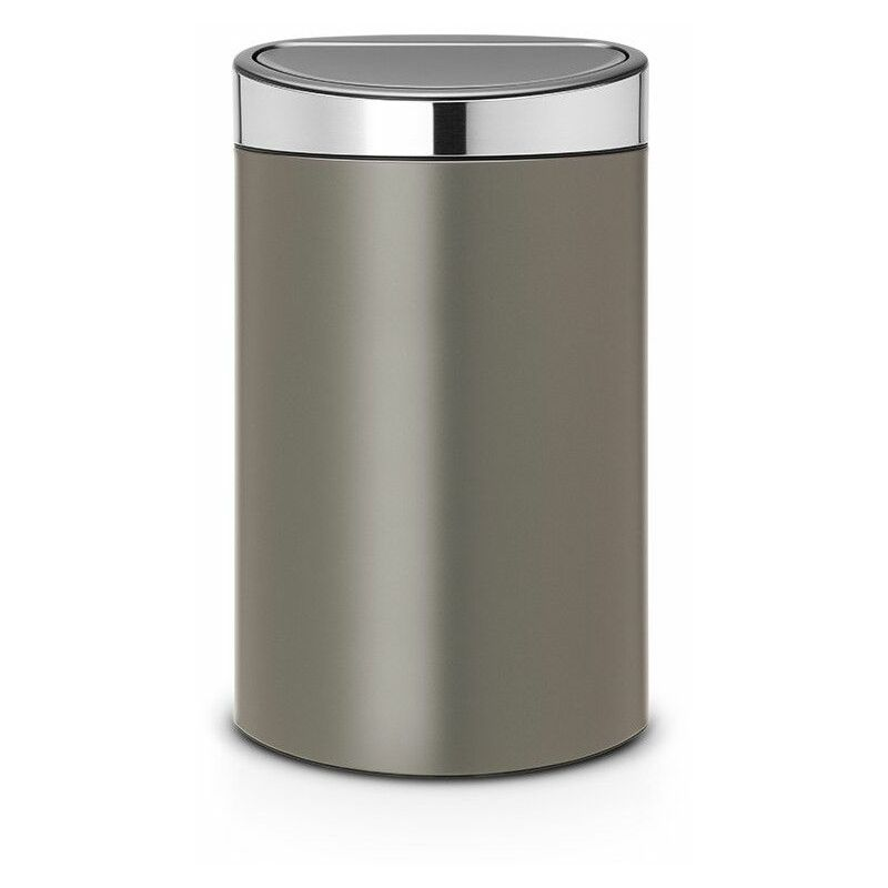 poubelle 40l platinum - 114885 - Brabantia