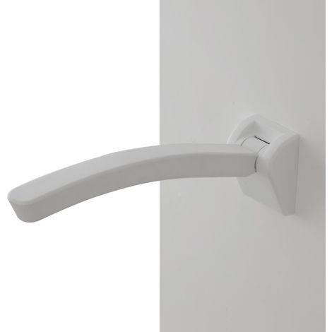 Bracciolo Ribaltabile Per Anziani E Disabili Bianco Da Muro Portata 150 Kg
