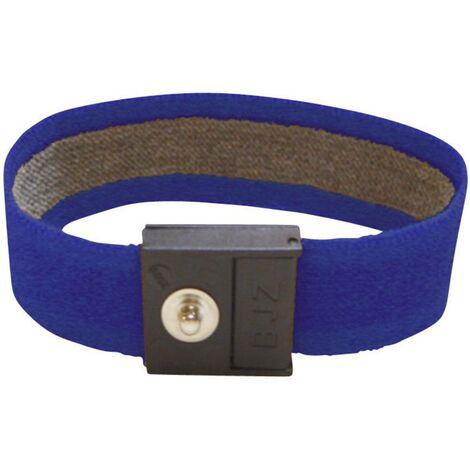 Bracelet antistatique (ESD) bleu marine BJZ C-189 145 4,0 Bouton-pression 4 mm 1 pc(s)