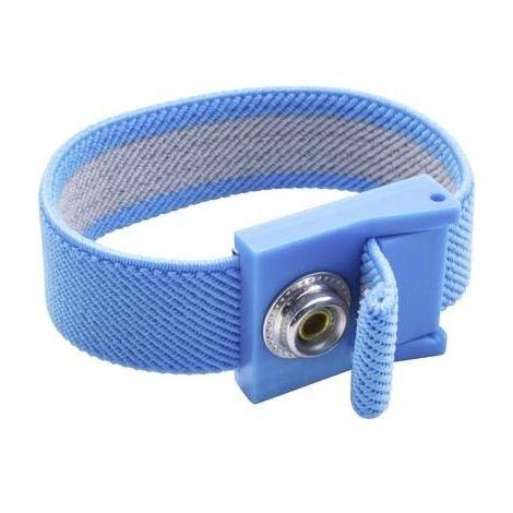 Bracelet antistatique (ESD) bleu Quadrios 1903EC034 Pression mâle 10 mm 1 pc(s)