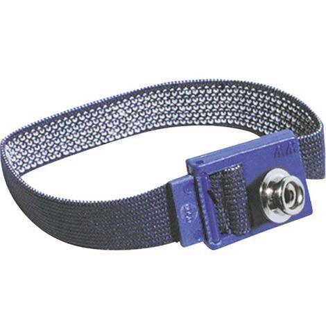 Bracelet antistatique (ESD) noir Bernstein 9-342-1 Bouton-pression 3 mm 1 pc(s)