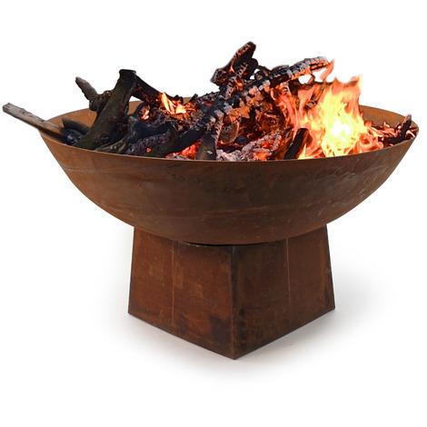 COPERCHIO Ø 101,0 per braciere-COPERTURA GRILL fuoco grill focolare-ACCIAIO
