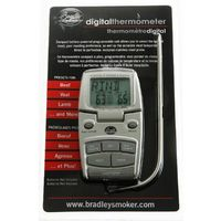 Bradley Digital Food Probe Thermometer Ideal for Smoking and Roasting