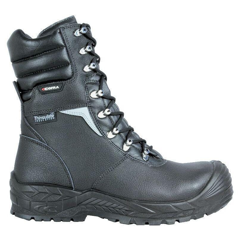 Image of Cofra Bragi S3 CI HRO SRC Men's Black Safety Boots Size - 9