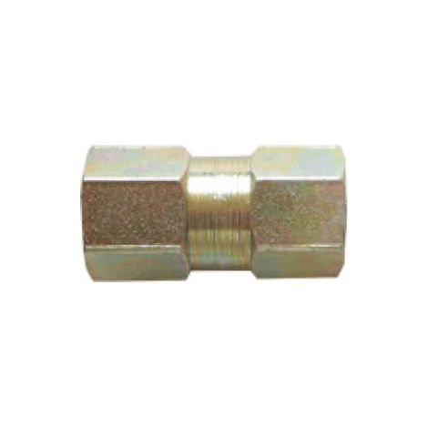Brake Pipe Connector Fitting 2 Way M10mm x 1mm Female 10 Pack