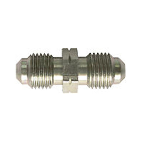 Brake Pipe Connector Fitting 2 Way M10mm x 1mm Male 2 Pack