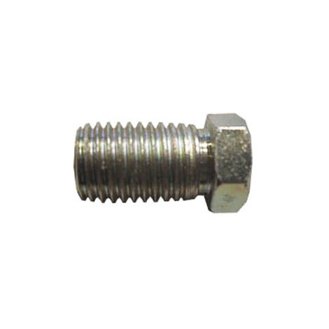Brake Pipe Nut Fitting M10mm x 1.25mm Full Thread Male 2 Pack
