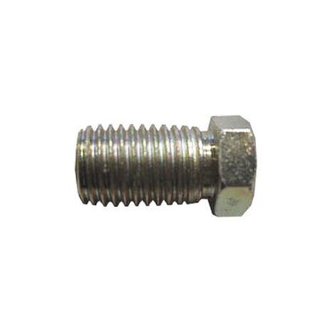 Brake Pipe Nut Fitting M10mm x 1.25mm Full Thread Male 5 Pack