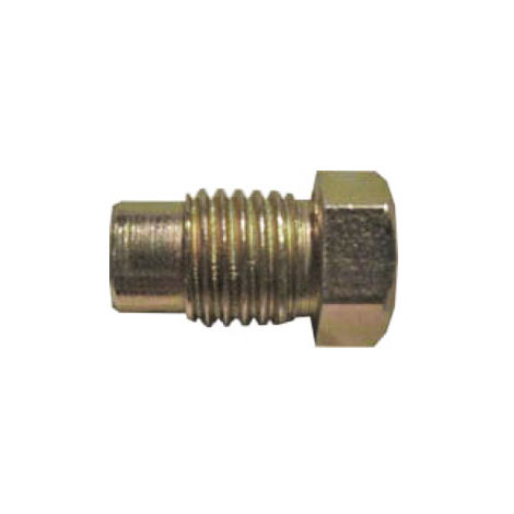 Brake Pipe Nut Fitting M10mm x 1.25mm Long Male 10 Pack