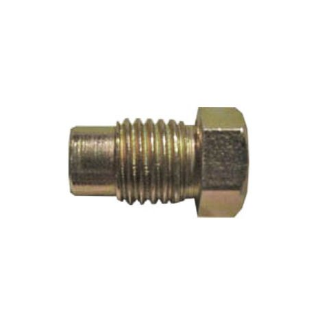 Brake Pipe Nut Fitting M10mm x 1.25mm Long Male 2 Pack