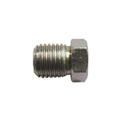 Brake Pipe Nut Fitting M10mm x 1.25mm Short Male 2 Pack