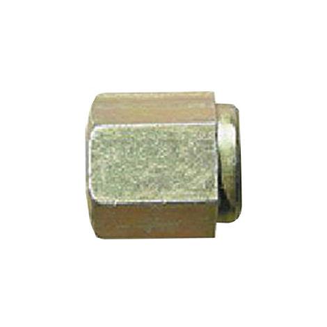 Brake Pipe Nut Fitting M10mm x 1mm Female 10 Pack
