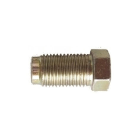 Brake Pipe Nut Fitting M10mm x 1mm Long Male 2 Pack