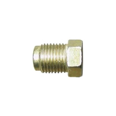 Brake Pipe Nut Fitting M10mm x 1mm Short Male 10 Pack