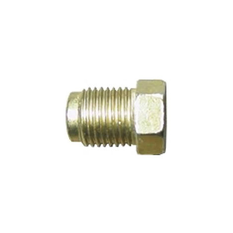 Brake Pipe Nut Fitting M10mm x 1mm Short Male 2 Pack