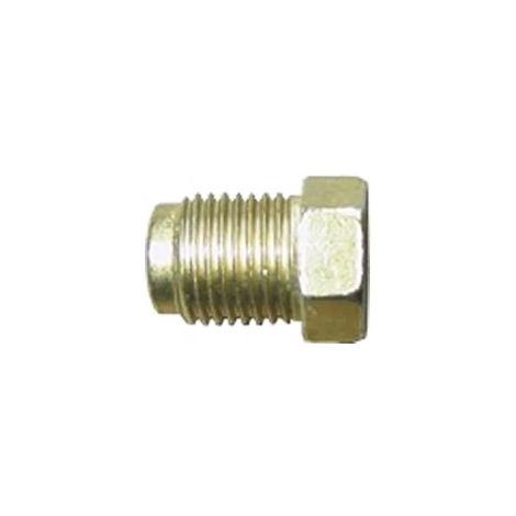 Brake Pipe Nut Fitting M10mm x 1mm Short Male Single Unit