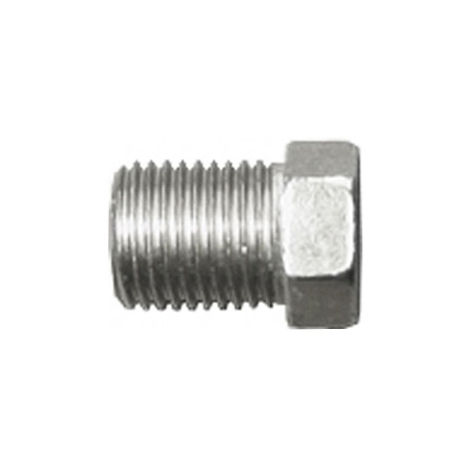 Brake Pipe Nut Fitting M12mm x 1mm Male 2 Pack