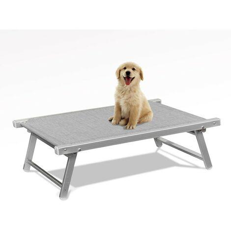 Brandine Pieghevoli Per Cani.Brandina Per Cani Lettino Spiaggia Mare In Alluminio Animali Doggy