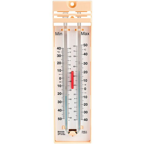 Brannan 12/403/3 Maximum/minimum Thermometer Mercury Free
