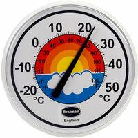 Brannan 300mm Rainbow Dial Thermometer
