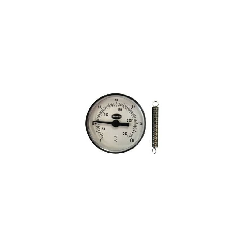 Image of Brannan 33/404/0 Clip-on Pipe Thermometer