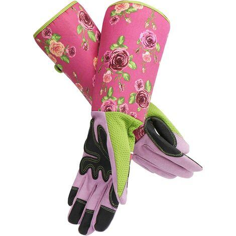 Bras Coude Protecteur Thorn Preuve Mesdames Gantelet De Jardin Avec Manches Longues Gants De Jardinage Longs Pour Femmes