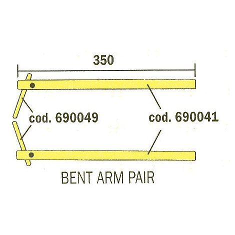 Bras de soudage et électrode pour soudure par point