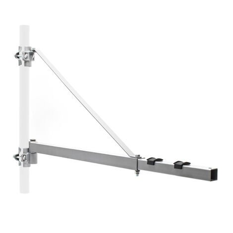 Bras pivotant levage palan support 600g 110cm treuil câble Potence Fixation
