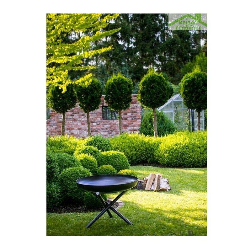 Sans N Avec Couvercle Brasero Jardin Ou Acier De Tsito E00465 En