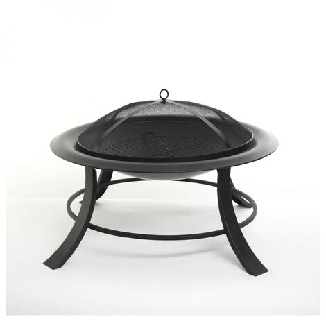 Brasero exterieur a charbon - L. 42 x l. 56 cm -PEGANE-
