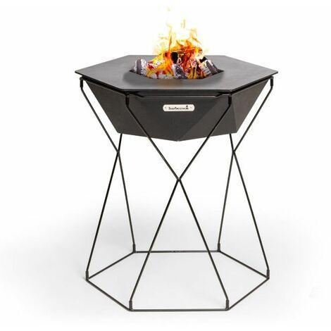 Brasero Grill et Plancha sur pieds Barbecook Rila