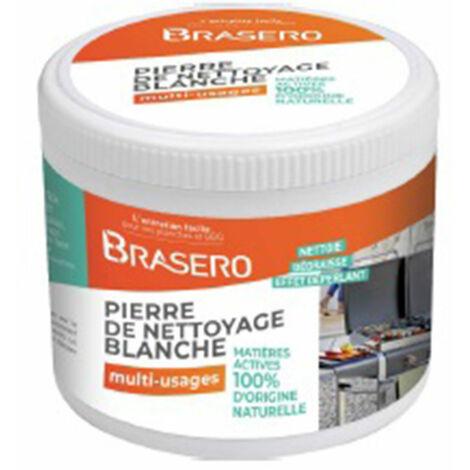 BRASERO - Pierre Blanche Brasero 375gr- 100% d'origine naturelle