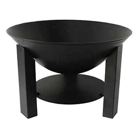 Brasero rond noir - Diamètre 60 cm