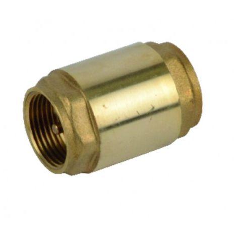 Brass all-position non-return valve brass valve 1 1/4
