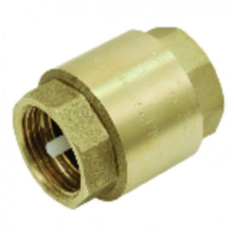 Brass all-position non-return valve nylon valve 1 1/4
