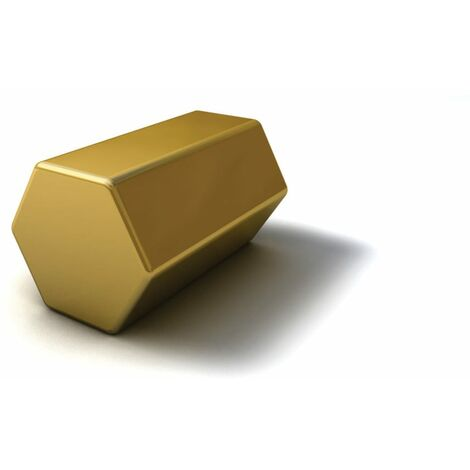 Brass Bar Hexagon x 24in