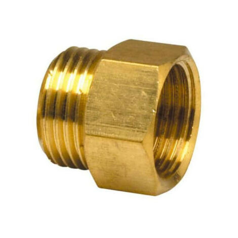 "Brass nipple - Diameter 2"" - Male-Female"