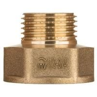 """Brass Pipe Connection Reduction Fittings Female x Male FxM 1"""" x 3/4"""""""