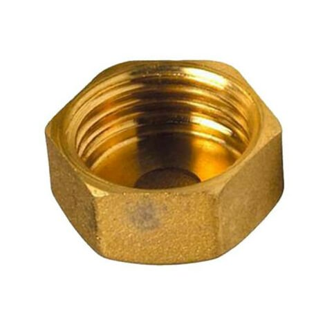 "Brass Plug - 1/2"" - Female"