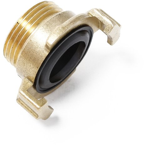 "Brass Quick Coupling / Connector for water hose DN25 - 1"" External Thread"