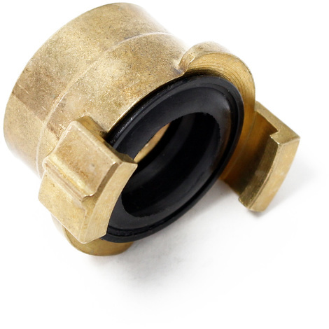 "Brass Quick Coupling / Connector for water hose DN25 - 1"" Internal Thread"